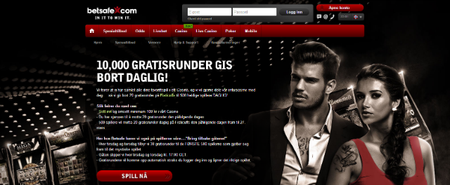 Betsafe casino web