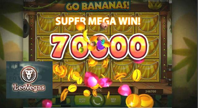 LeoVegas bananas main